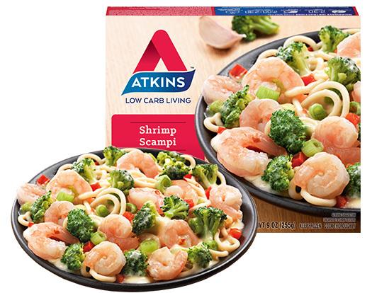 atkins diet frozen foods