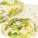 Bacon-Egg Salad Flatout Wrap