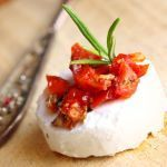 brie and tomatoes