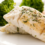 Photo of Baked Catfish with Broccoli and Herb-Butter Blend