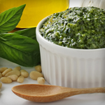 low carb basil pesto