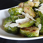 Photo of Brussels Sprouts with Lemon and Parmesan