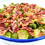 Photo of Brussels Sprouts with Bacon and Parmesan