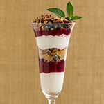 low carb parfait