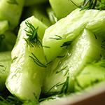 cucumber-dill salad