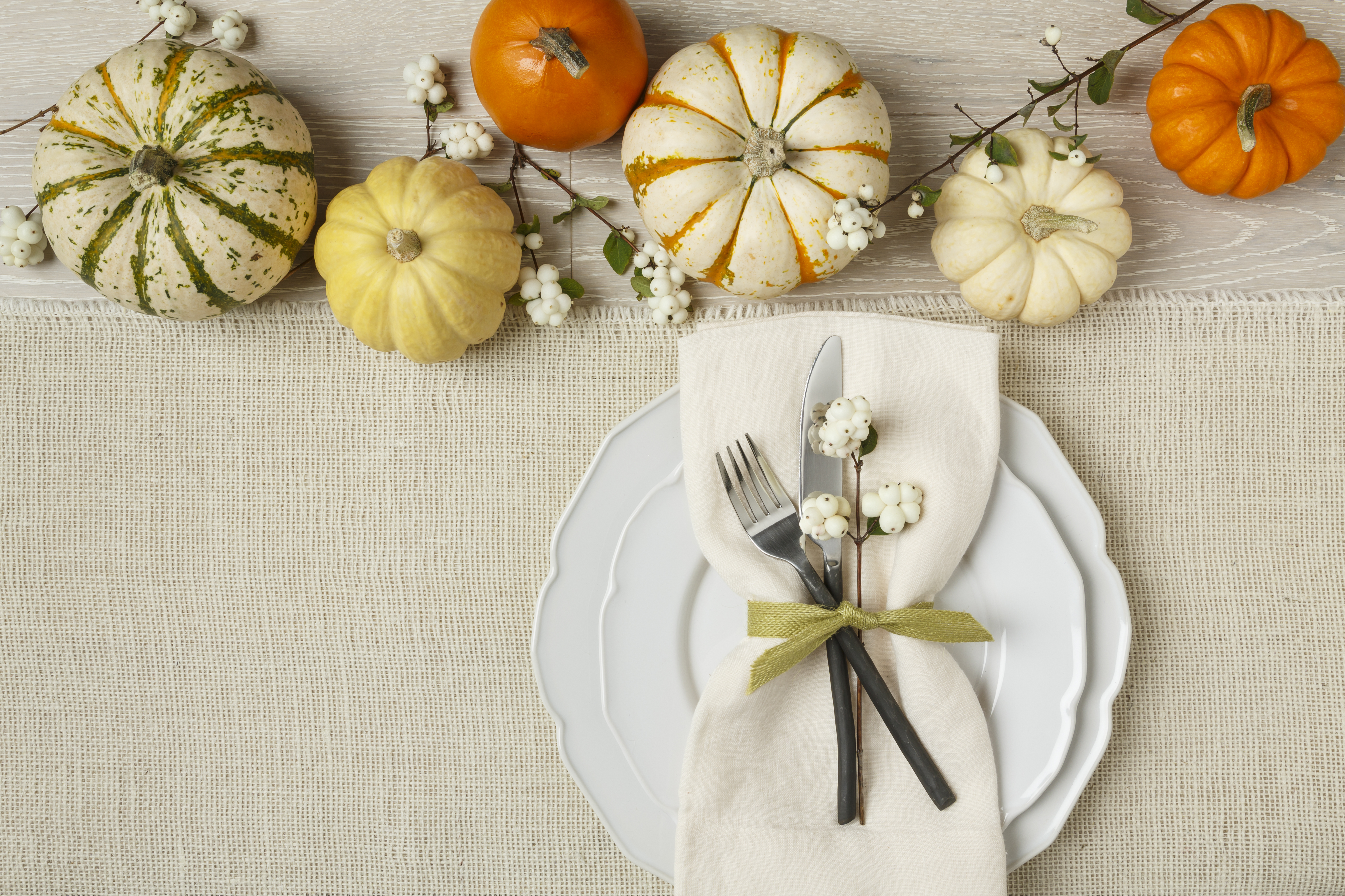 Set the table for a healthy thanksgiving
