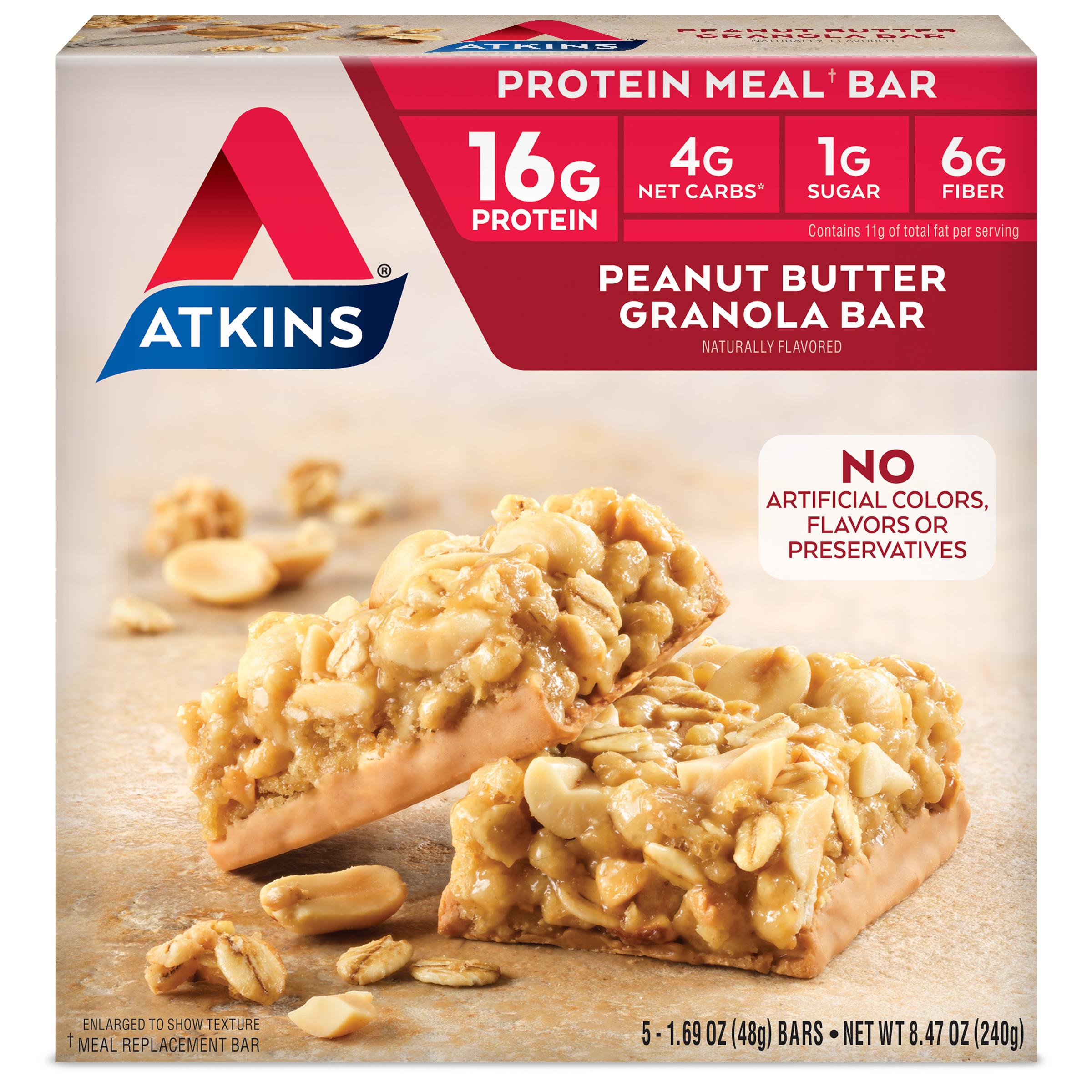 Peanut Butter Granola Bar Atkins