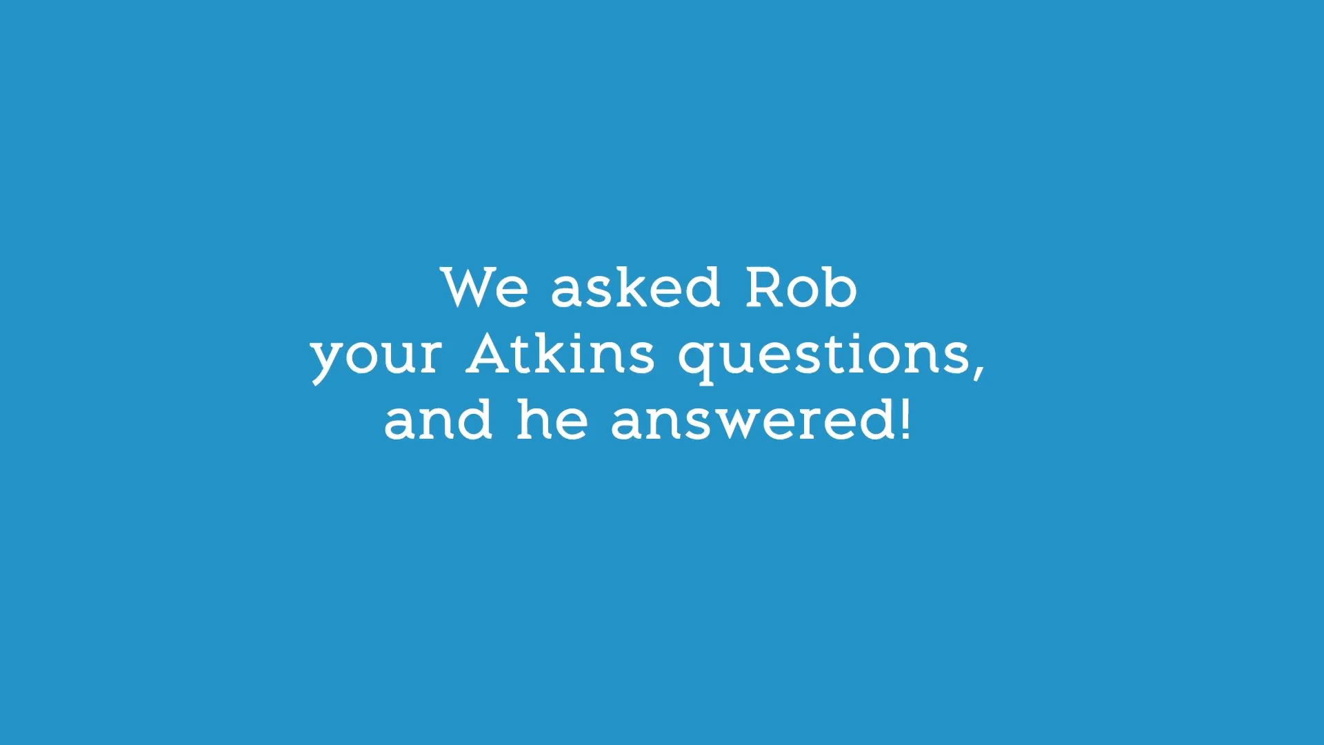 Rob Lowe Answers your Questions Part 1