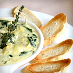 low carb spinach artichoke dip