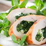 spinach stuffed turkey