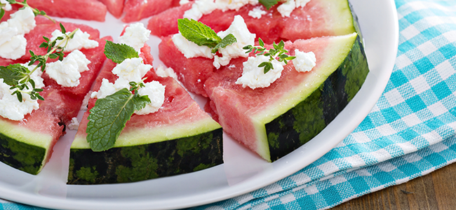 Watermelon is the Perfect Summer Snack