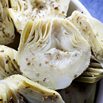 artichoke with cheese