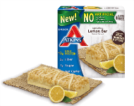 New Lemon Snack Bars