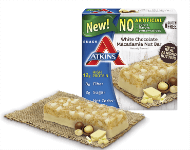 New White Chocolate Macadamia Nut Snack Bars