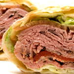 Image of Beef adnc Cheddar wrap