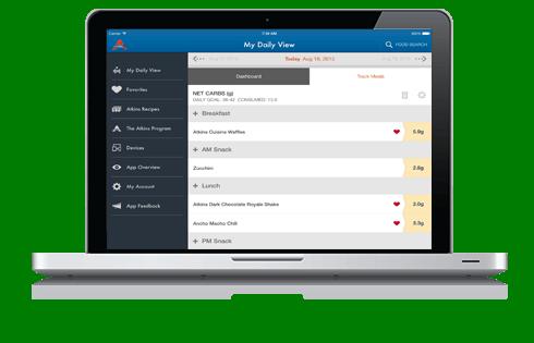 Atkins online tools