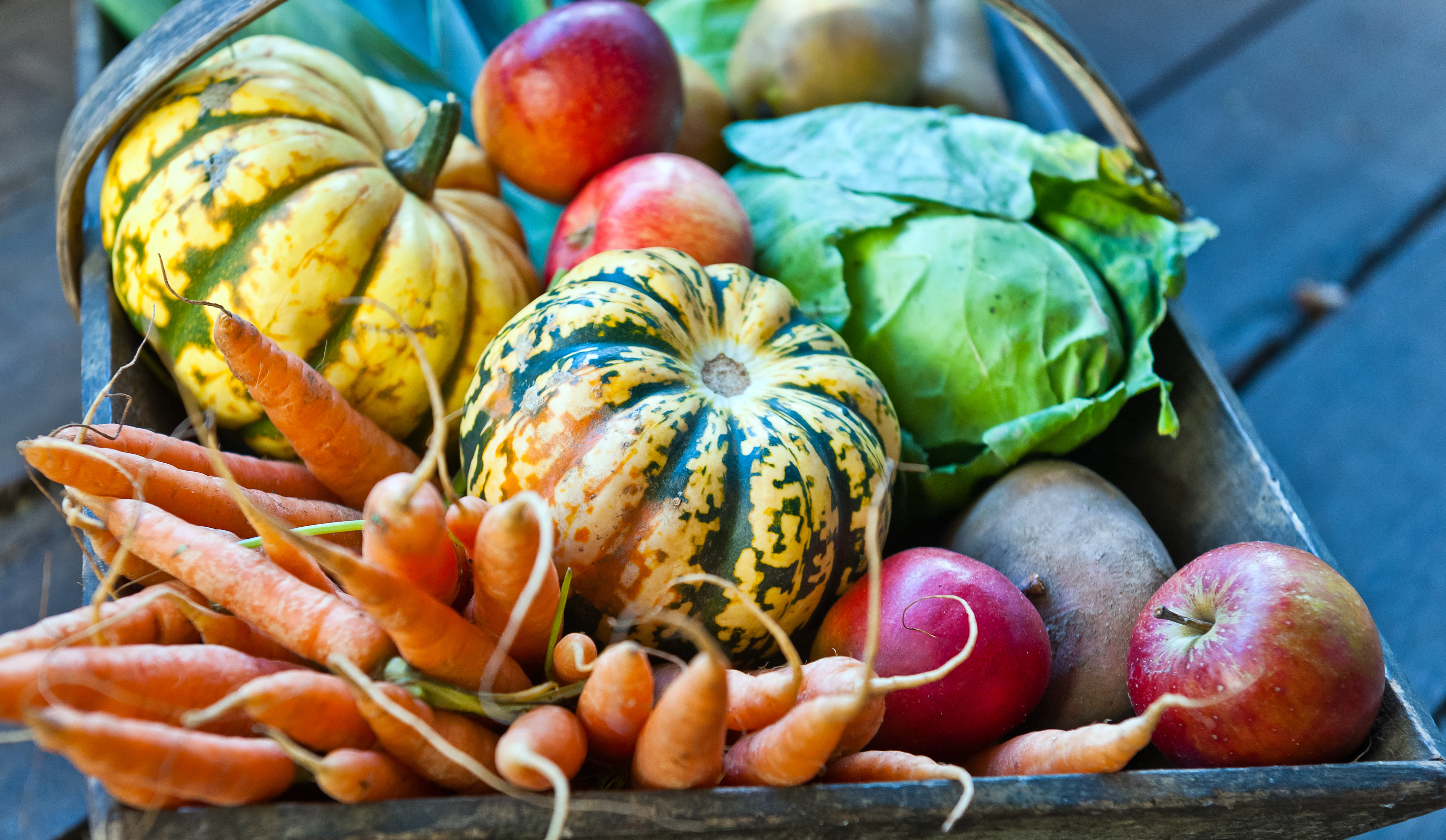 Squash, turnips and even more winter produce