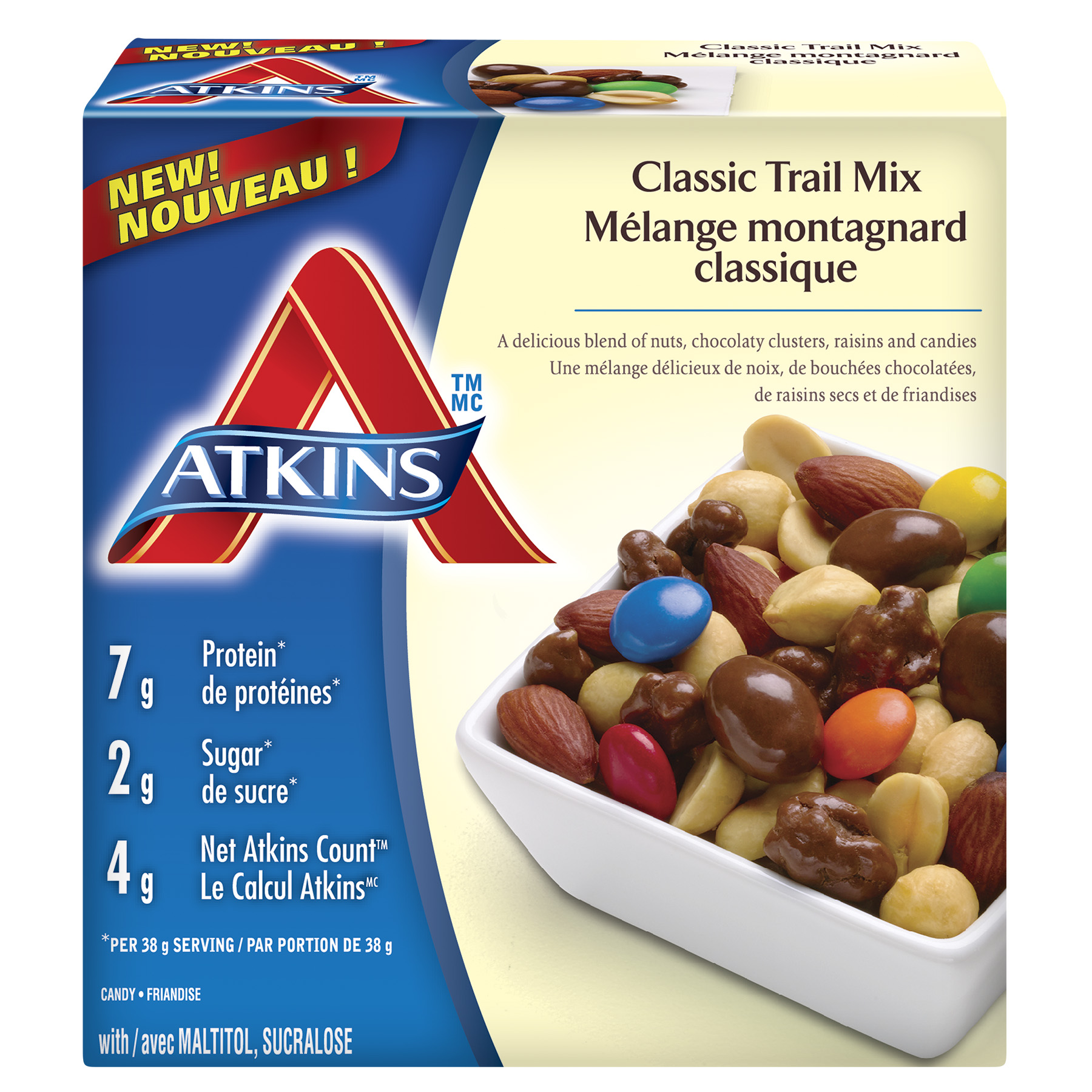 Trail Mix For A Low Carb Diet Atkins Atkins