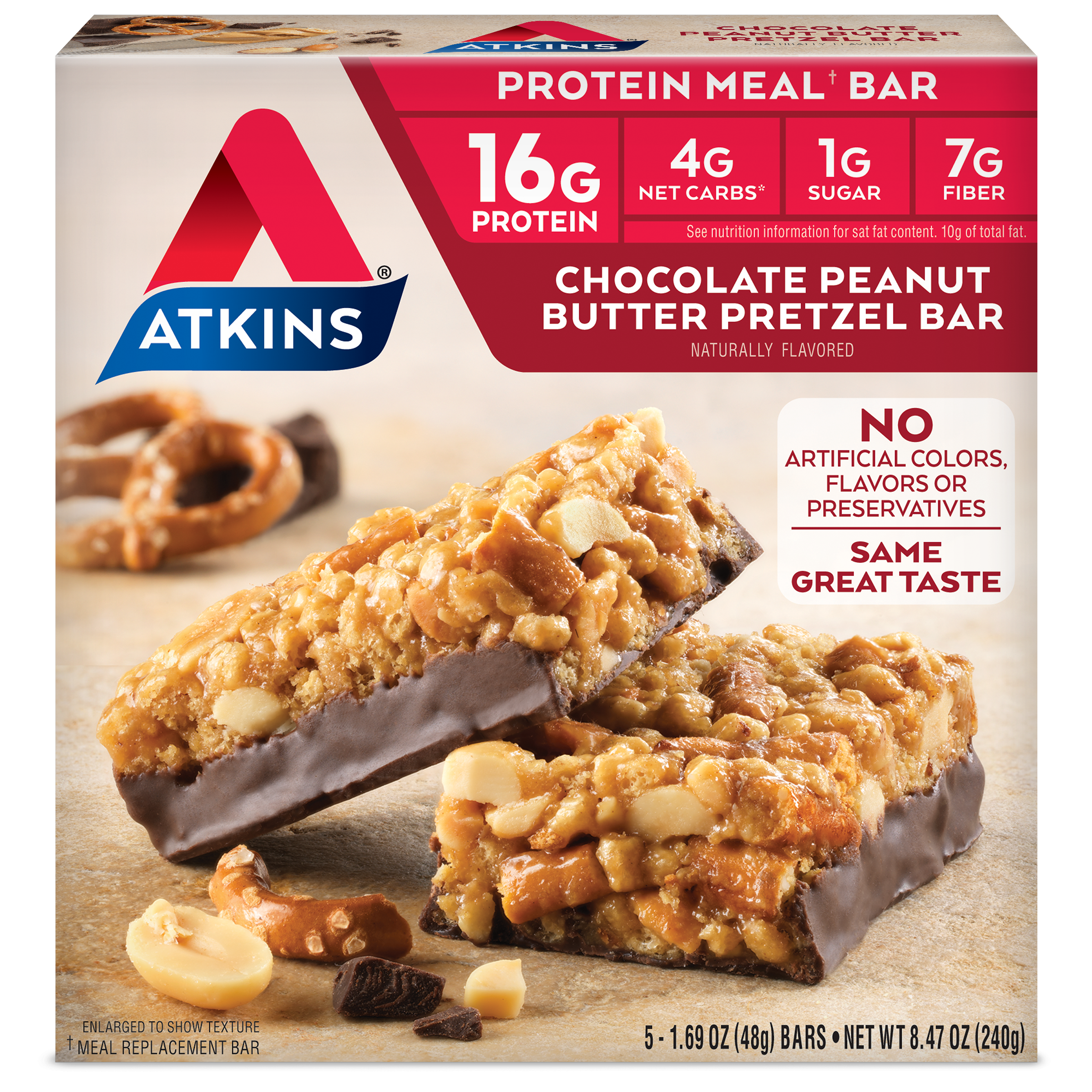 Protein Meal Replacement Bars For A Low Carb Diet Atkins