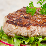 Flavorful turkey burgers