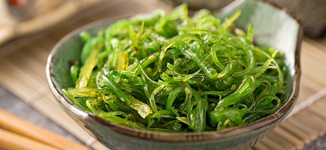 Image of seaweed salad