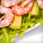 shrimp bacon avocado salad