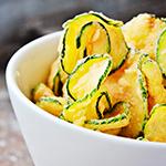 Zucchini crisps